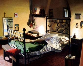Giclee Print Italian Bedroom  wall art