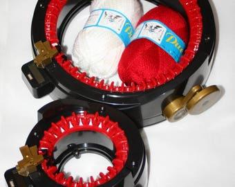 Double Set Addi Express Professional, Addi Express Kingsize, Knitting Machine,  Knitting Set, Knitters Gift, free 2 ball of yarn