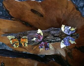 Butterfly art//Butterflies on wood//Butterfly decor
