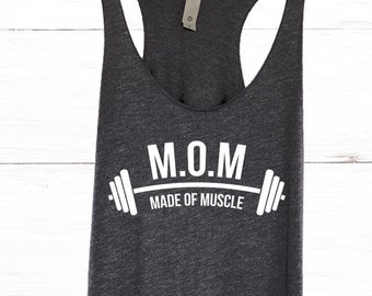 79a8139cffe1d6 Workout Gym Tank Top for Mothers