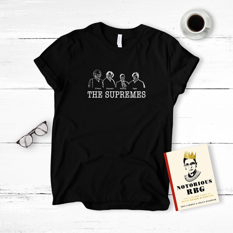 3b8cd3df3b62 The Supremes T Shirt Justices The Supreme Court Justices | Etsy