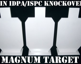 Tall Knock-over Stands for Steel Targets 6piece Metal Target Stand Set 24in