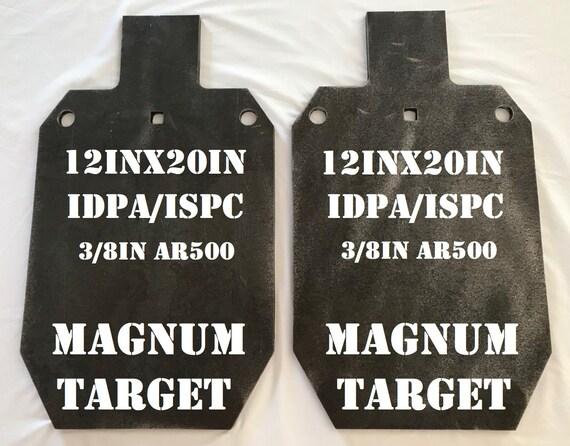 "AR500 3//8/"" Steel Shooting Target Gong 7 pc Set 2in,3in,4in,6in,8in,10in,12in"