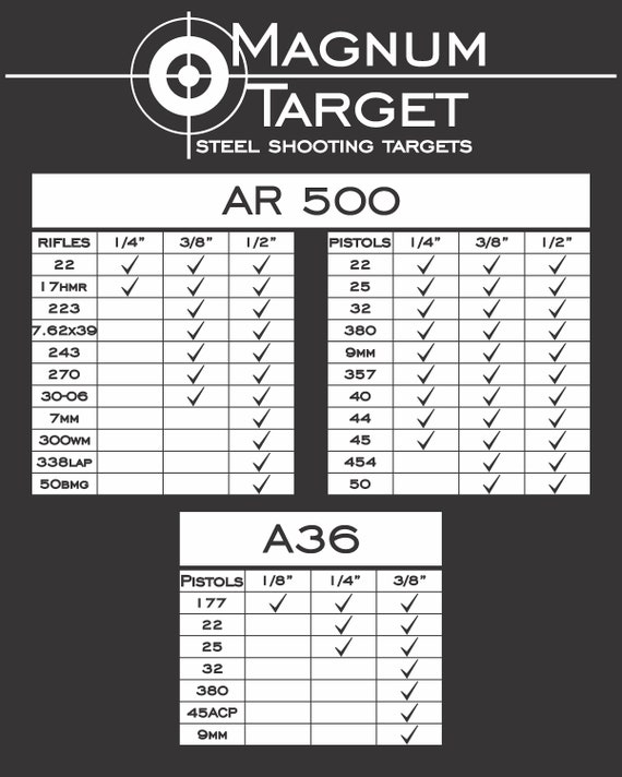 "AR500 Steel Target 2/"" X 1//4/"" Gong"