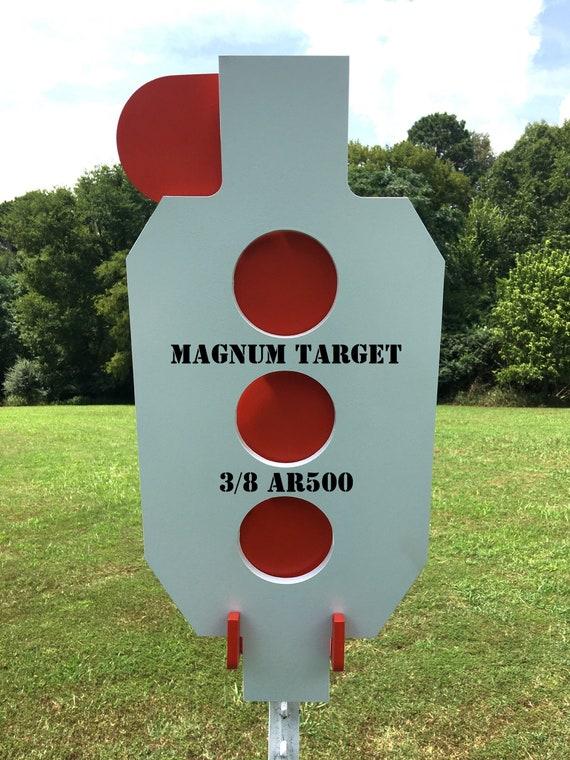 """AR500 Steel Shooting Range Targets Dueling Trees Metal Paddles 6""""x 3//8/"""""""