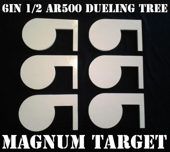 """AR500 Acier Cible Duel Arbre À faire soi-même Kit 6 4/"""" x 1//4/"""" pagaies DOM Pivot Tubes"""
