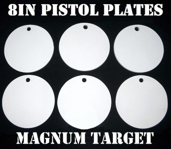 AR500 4 x 3//8 Gong Hanger En Acier de tir cible NRA Action Pistolet Plaque