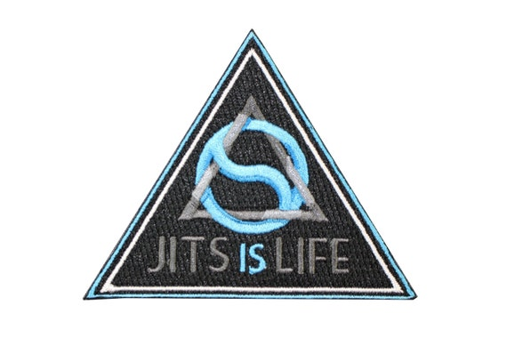 Jiu Jitsu BJJ Gi Patch OSS Jiu Jitsu Gift IRON-ON Oshi Shinobu Stocking Stuffer