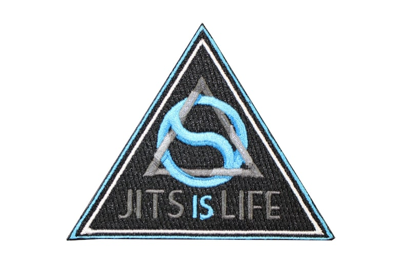 Jiu Jitsu BJJ Gi Patch REPRESENT RED WHITE BLUE Jiu Jitsu Gift IRON-ON American