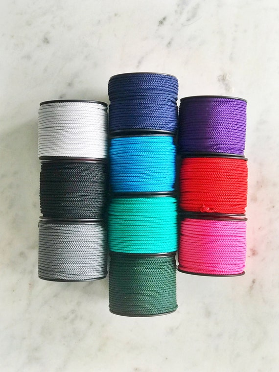 Women Nylon Cord Chinese Knot Thread Multi Color Bracelet Braided Ropes Sale