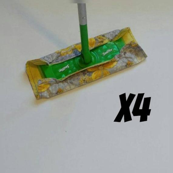 Réutilisable Swiffer tampons, quatre, sur commande, choisissez impression, livraison gratuite, cadeau de pendaison de crémaillère, écologique, réutilisable, zéro déchets, Flanelle