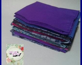 Cloth napkins, set of fifteen, quality, topstitched, cotton napkins, reusable napkins, table napkins, table linens, kitchen linens, choose