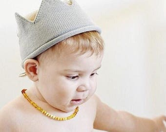 0a9fd7cad30 Baby Knitted Crocheted Crown