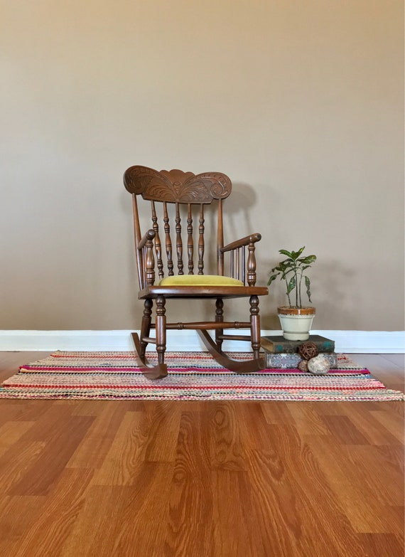 Strange Childs Rocking Chair Vintage Wooden Childs Rocker Childs Wooden Rocking Chair Vintage Wooden Rocking Chair Beatyapartments Chair Design Images Beatyapartmentscom