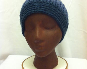 Cables and Stripes Beanie