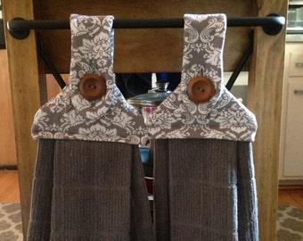 Hanging Kitchen Dish Towel - Set of 2