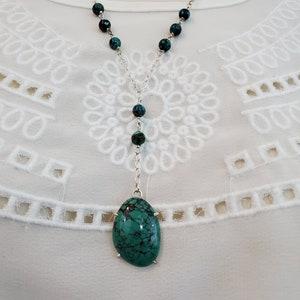 Native American Kingman Turquoise Boho Pendant Sacred Powerful Healing Stone Medatition Stone Natural Turquoise Wire Wrapped Pendant