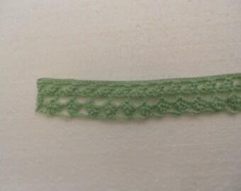 Lace, crochet trims