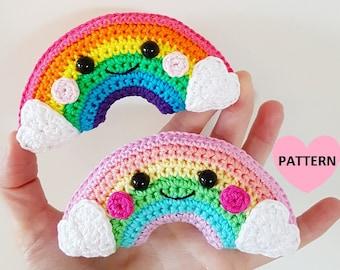 Little Rainbow - PDF Pattern, crochet, amigurumi