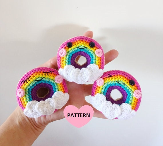 How to Crochet Play Food - Donuts - Part 1 - YouTube | 511x570