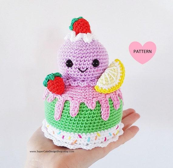 Ice Cream Cone – Free Crochet Pattern | 552x570