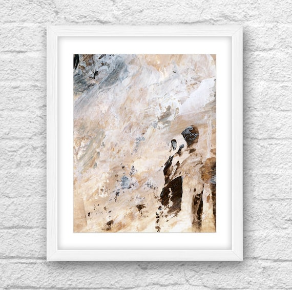 Abstract Art Abstract Print Walking People Modern Art Living Room Decoration Abstract People Decoration Idea Earth Colors Modern