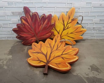 Cubicle Sized Fall Leaf Hang in 3 colors