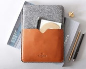 Leather Kindle Paperwhite Cover   Kindle Paperwhite Case   Kindle Voyage Case Leather Sleeve Case And Felt Case with Pocket   Harber London