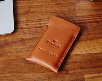 iPhone 7 & 8 Case Leather Sleeve and iPhone 7, 8 Plus Case, Leather Wallet Phone Case and felt Sleeve Cover