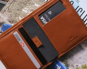 Bifold Leather Wallet for Men with RFID protection   Harber London