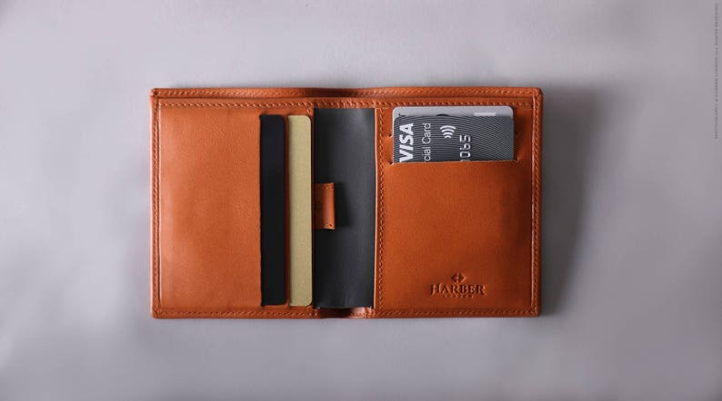 1a5baf2922eb RFID Bifold Wallet Slim RFID Leather Wallet Mens Slim
