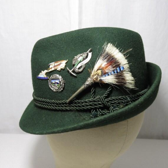 Tyrolean Hat Pins