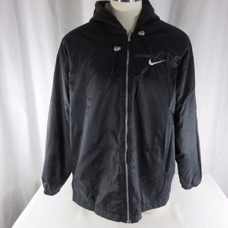 8f514c9ea6f8 Vintage Nike L USA Cascade Nylon Jacket Hoodie 80s Streetwear