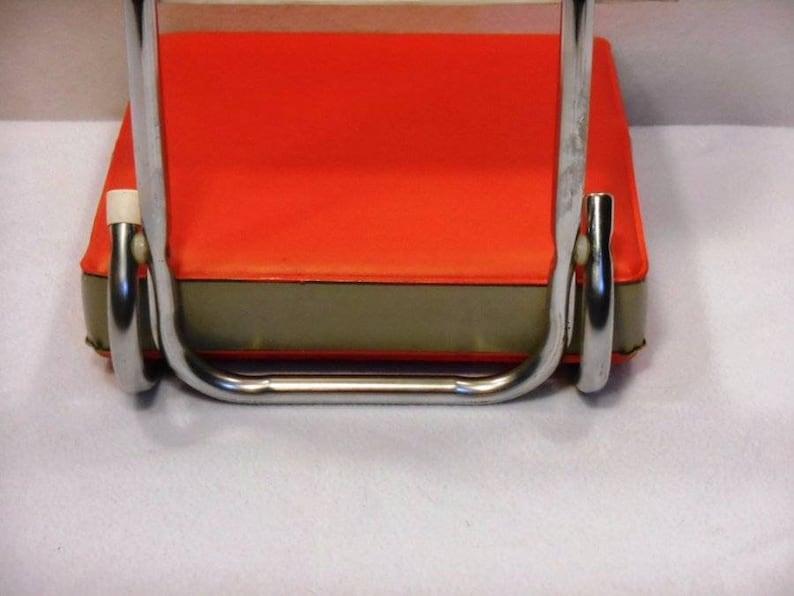 Vtg Red UNLV Runnin Rebel Soccer Football Padded Folding Stadium Seat Chair