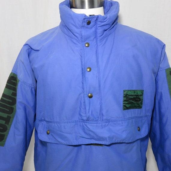 Vintage 80s L Outrage Ski Extreme Puffer Jacket Bl