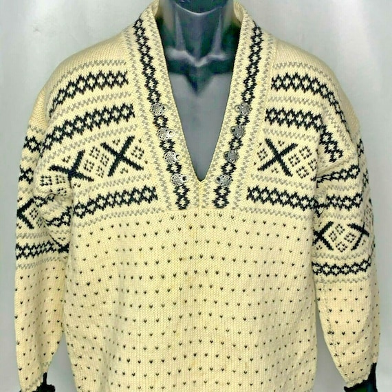 Vintage Cream Wool Fairloom