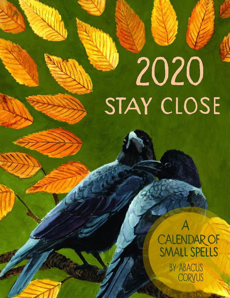2020 Stay Close Calendar image 0