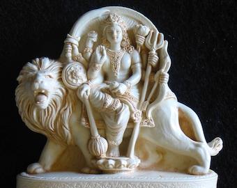 Durga Goddess altar statue