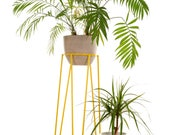 Mid-century Modern Wire Plant Stand L Size Plant stand S Size at Special Price