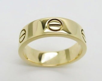78c2930fd Size 6 3/4 (54), CARTIER LOVE RING, 18kt Yellow Gold, Cartier B4084654,  Cartier Box & Paperwork, Cartier B4084600, Yellow Gold Love Ring