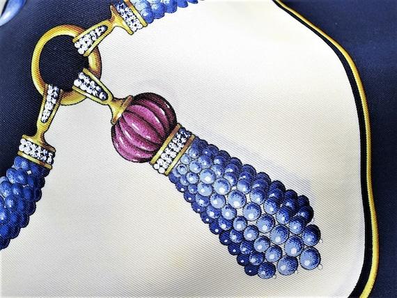 CARTIER SCARF Sautoir Design 100% Silk w Cartier   Etsy b10ad7452d67