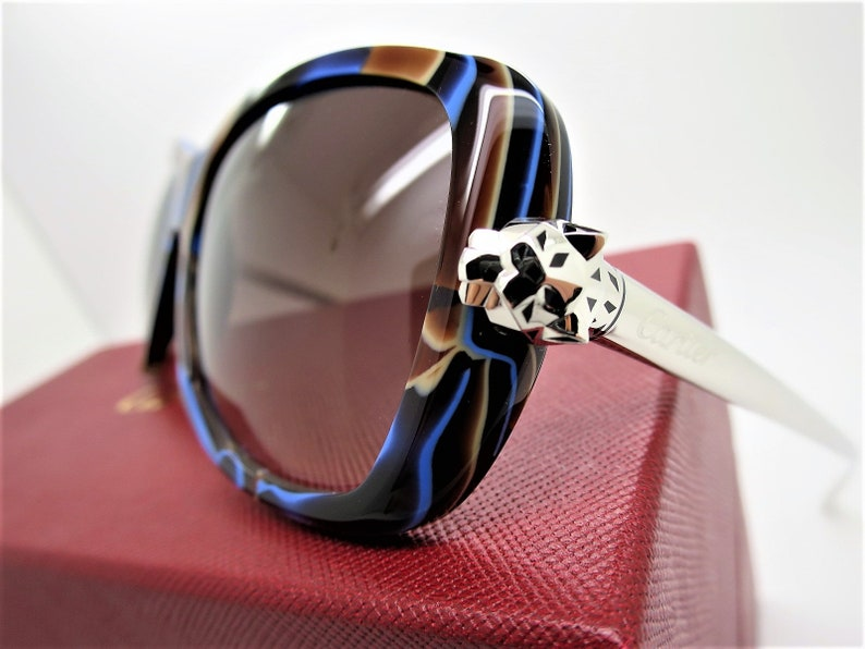 3d30bd8c541 CARTIER PANTHER SUNGLASSES Exceptional Edition