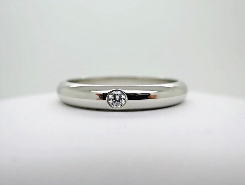 Cartier Wedding Band.Size 6 25 52 Cartier Wedding Ring 3 5mm Platinum Diamond Cartier B4071800 Cartier B4071852 Cartier 1895 Ring