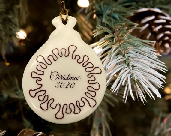 Christmas 2020 Coronavirus Ornament