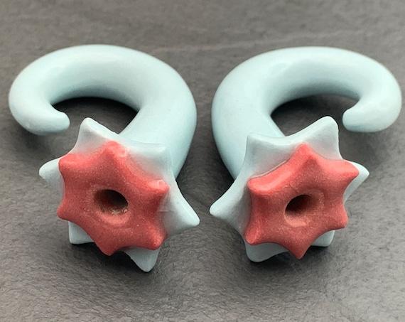 Ear Gauges. 00 ceramic ear gauges. Ceramic plugs.