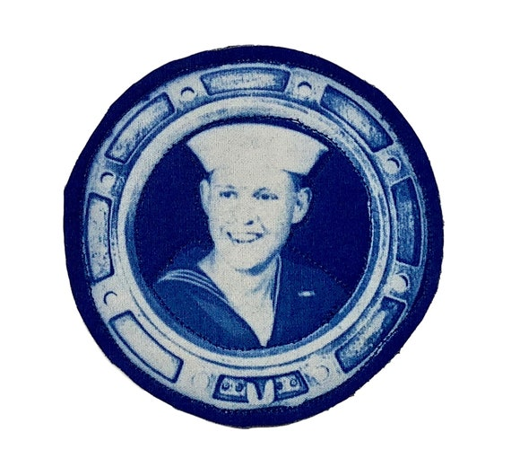 Handsome Sailor Iron On Patch
