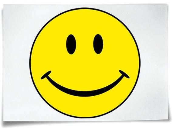 Smiley Face Iron On T Shirt Transfer Yellow Acid House Etsy