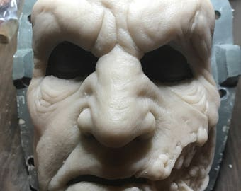 Das Brute Silicone Full Face Prosthetic