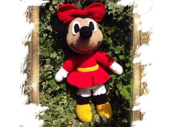 Minnie Mouse Häkelanleitung Anleitung Häkeln Etsy