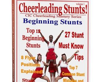 Cheerleading Beginning Stunts Ebook, Cheerleading Coach, Cheer Mom, Cheer Coach, Cheerleading Gift, Cheerleader Gift, Cheerleading Bow